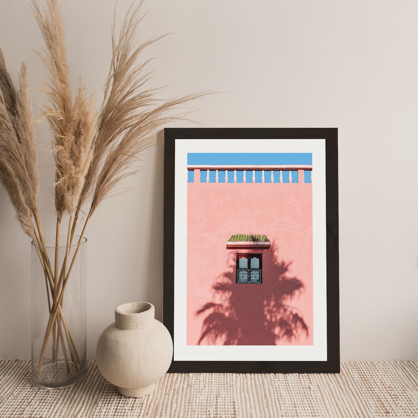 Sunblocker Art Print Black Frame | Bombinate
