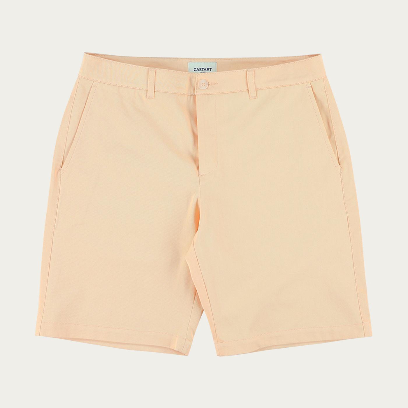 Apricot Angel Wing Cotton Shorts   Bombinate