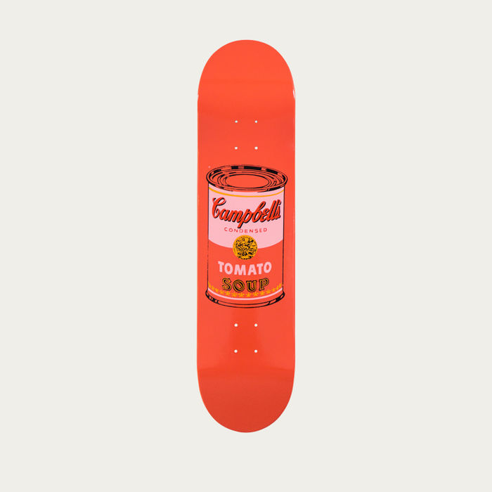 Peach Warhol Colored Campbell's Soup Cans | Bombinate