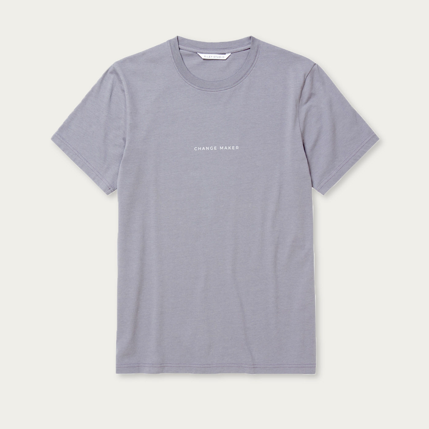 Mystic Blue Recycled Cotton Classic T-Shirt | Bombinate
