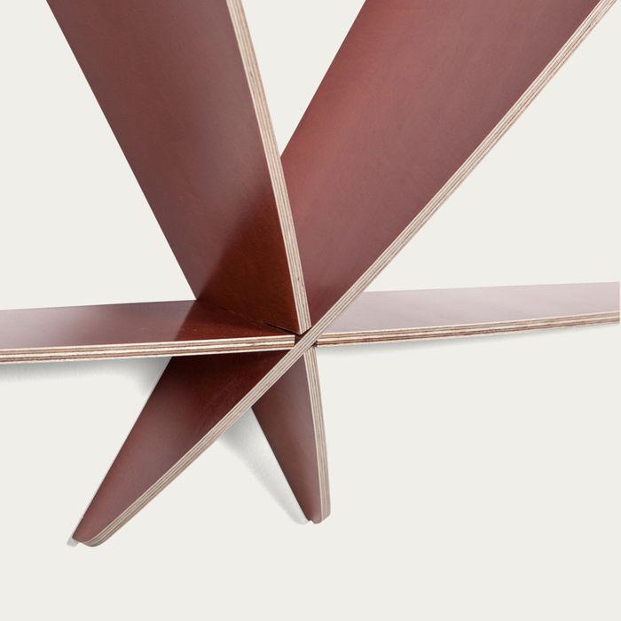 Brown Bookshelf Comb | Bombinate