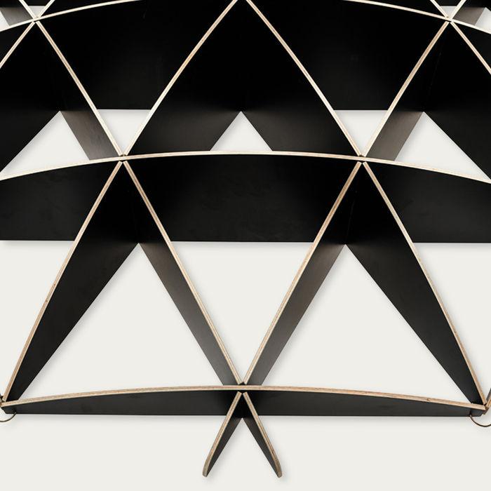 Black Bookshelf Comb | Bombinate