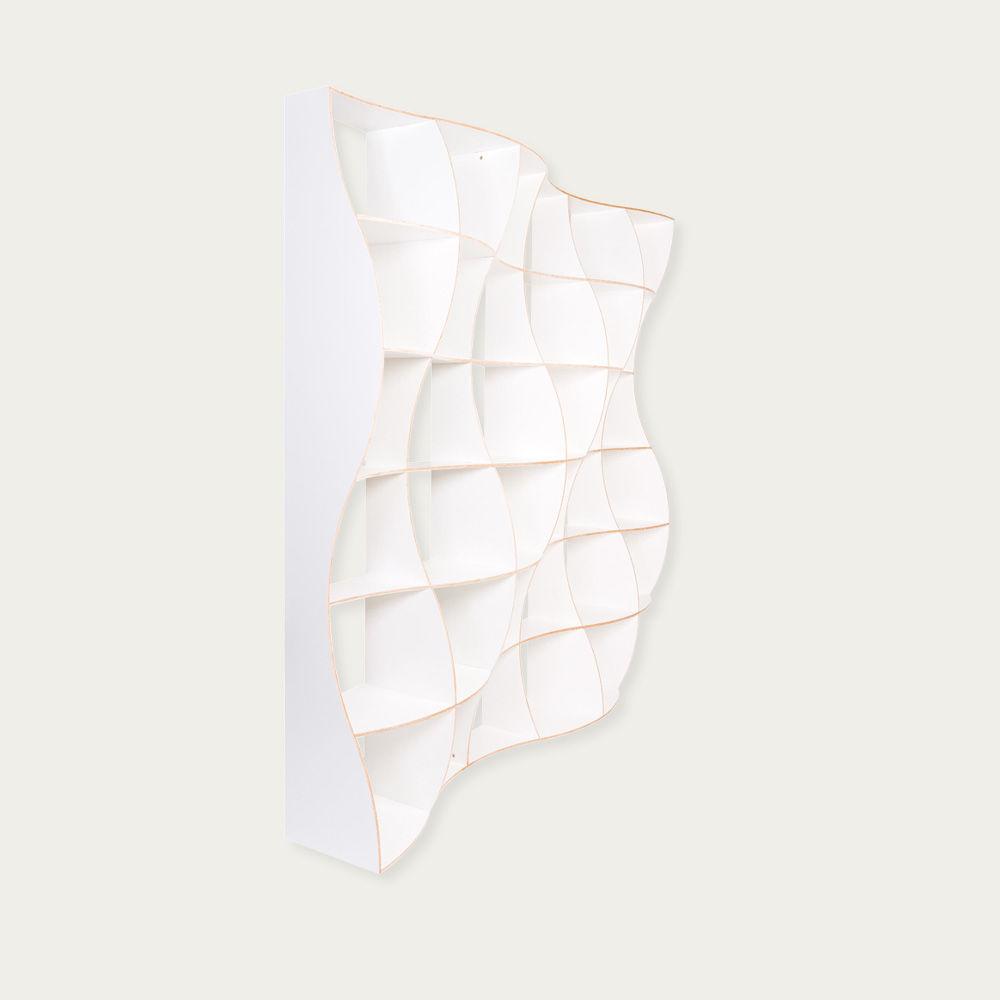 White Bookshelf Dune  | Bombinate