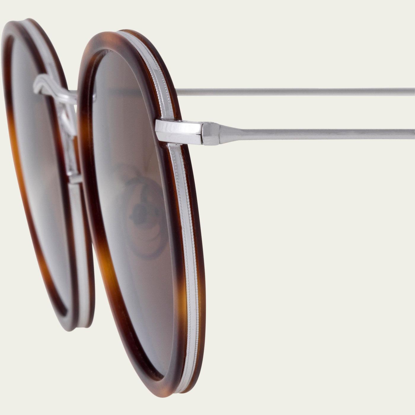 Classic Tortoise / Tobacco Crossbreed Sunglasses   Bombinate