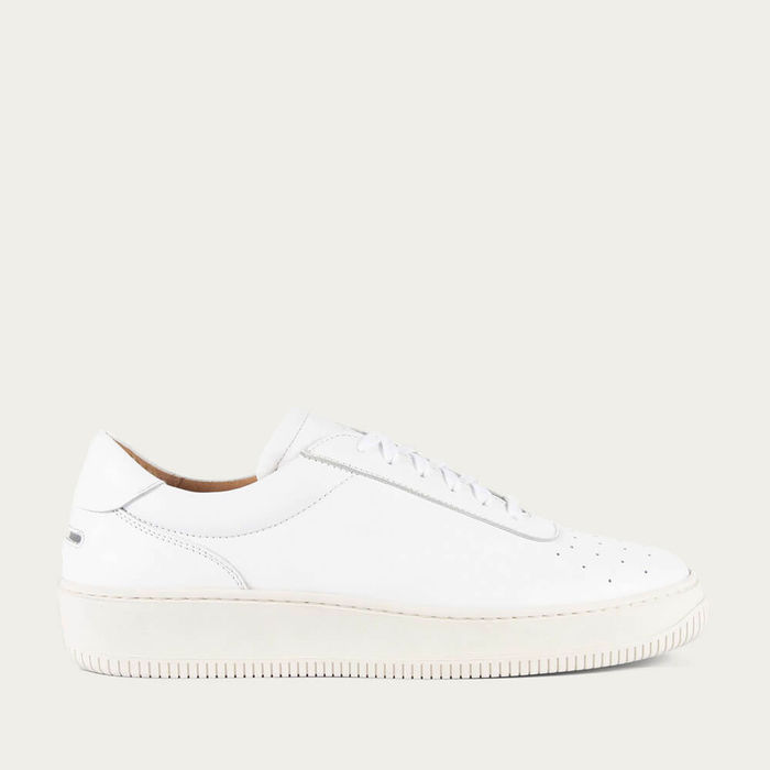 White Clement Leather | Bombinate