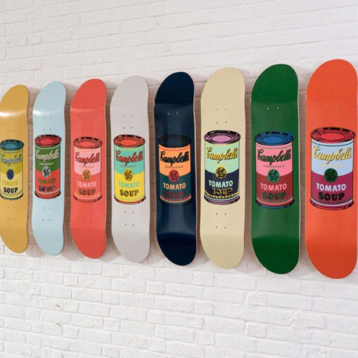 Colored Campbell's Soup Cans Set Warhol  | Bombinate