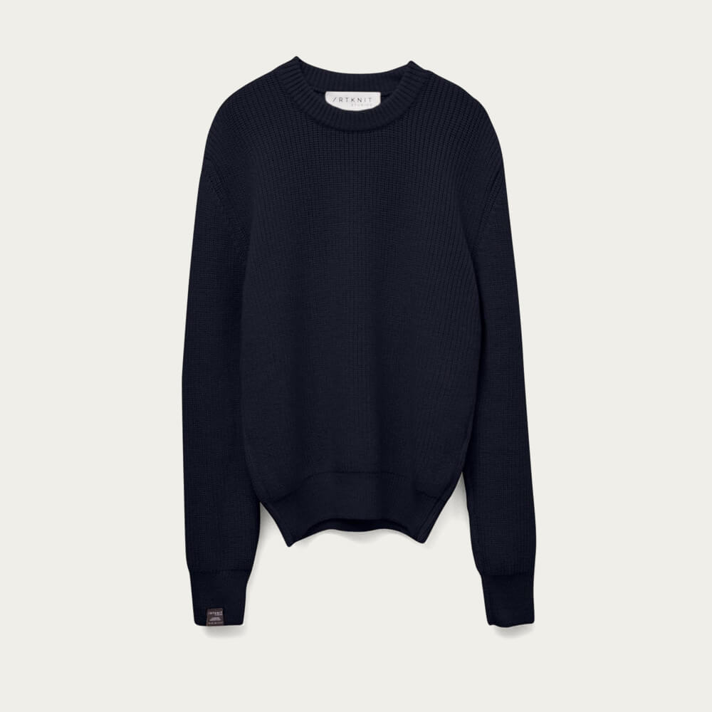 Blue Navy The Perkins Sweater | Bombinate