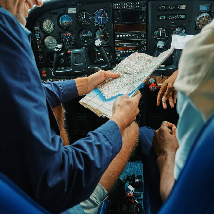 Navy Speedbird Twill Travel Jacket | Bombinate