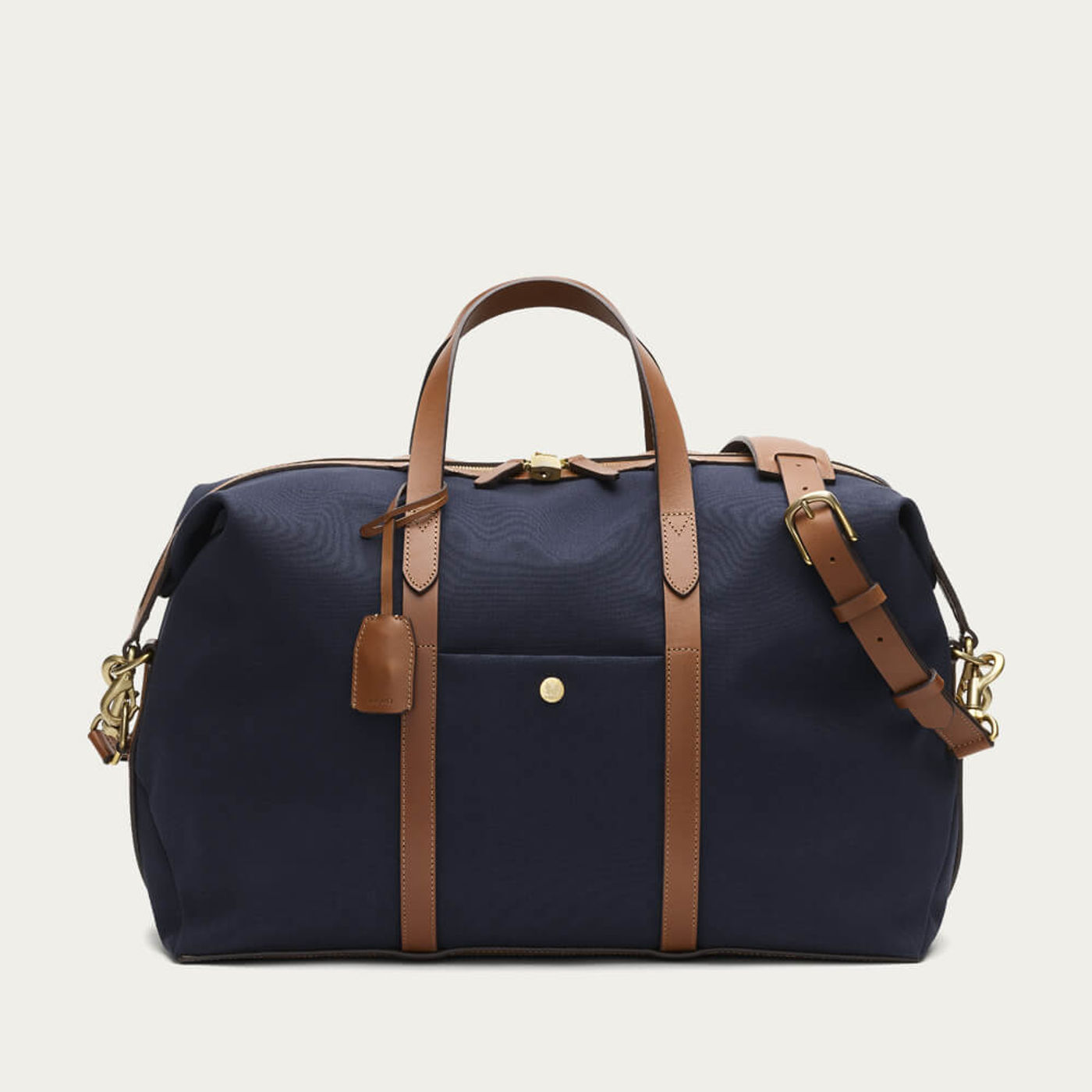 Midnight Blue-Cuoio M/S Avail   Bombinate