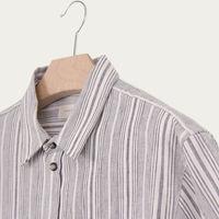 Purple Stripe Double Pocket Shirt | Bombinate
