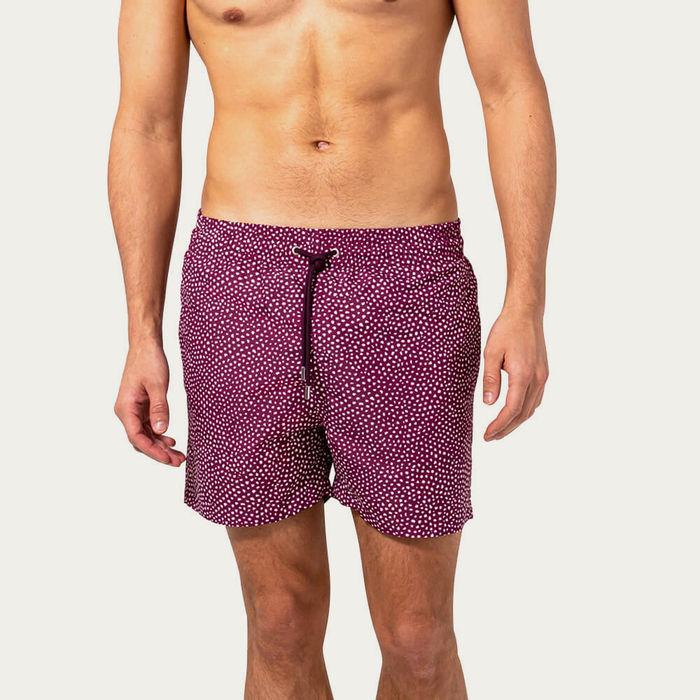 Purple Abysses Swim Short | Bombinate