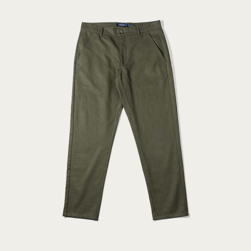 Green Japanese Tencel Pant  | Bombinate