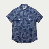 Denim Patchwork Shirt | Bombinate
