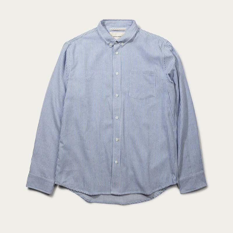 Blue Tom Striped Shirt  | Bombinate