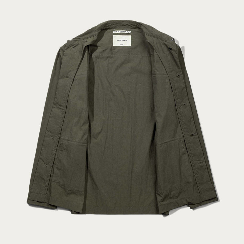 Green Thorvald Paper Jacket  | Bombinate