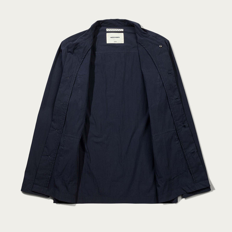 Navy Thorvald Paper Jacket  | Bombinate