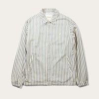 Striped Herringbone Coach Jacket | Bombinate