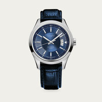 Blue Dial with Blue Leather Osvay 500 Watch | Bombinate