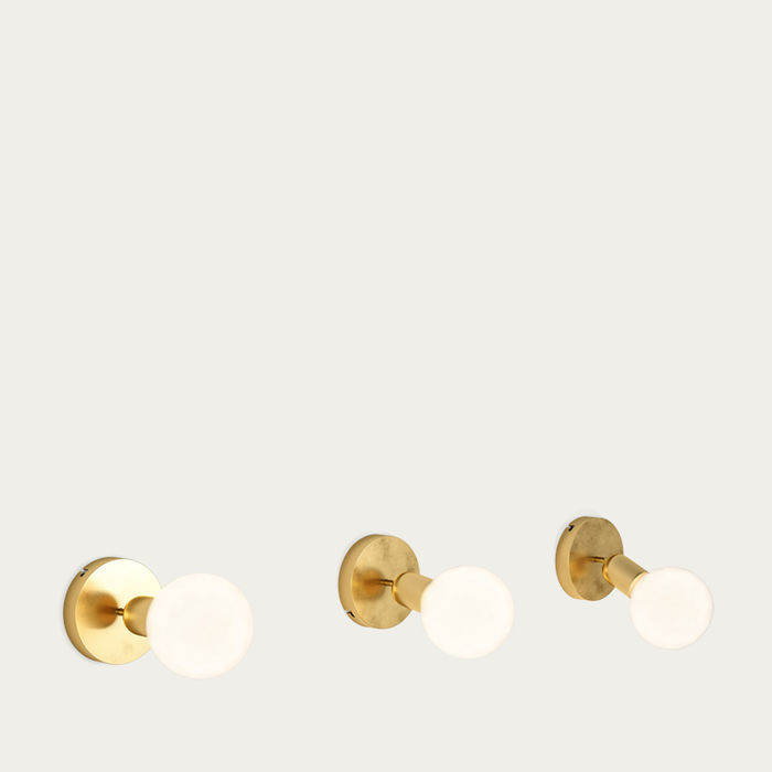 Golden Brass Anemoi Light | Bombinate
