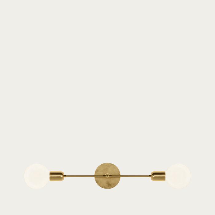 Golden Brass Janus Light   Bombinate