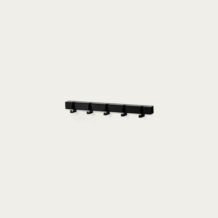 Black 5 Hooks Coatrack | Bombinate