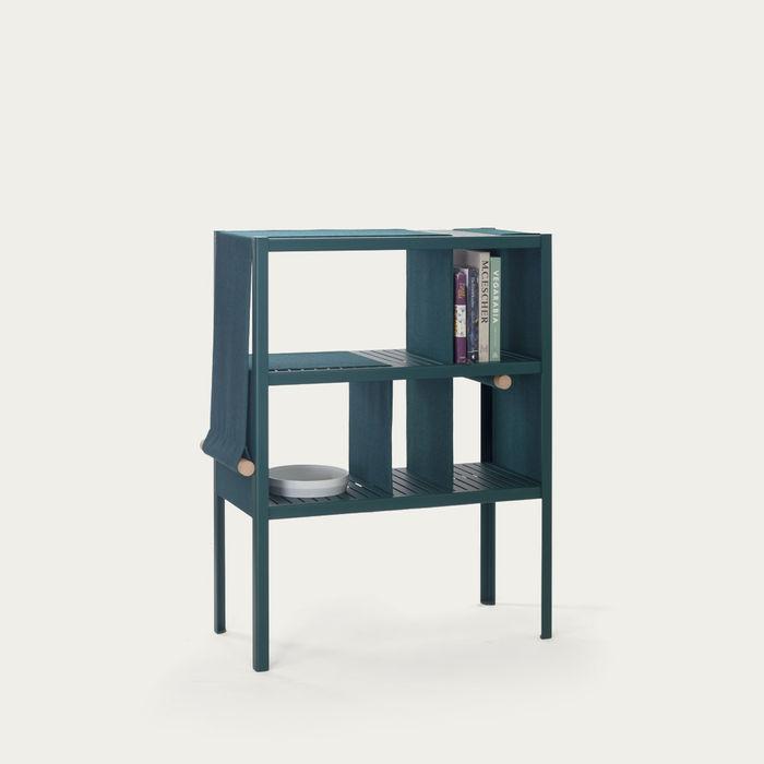 Green/Blue Divide 3 Dressed Cabinet | Bombinate