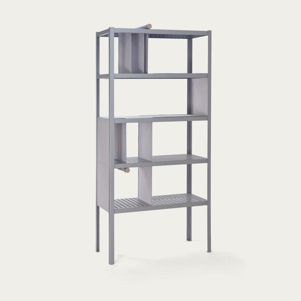 Divide 5 Platinum Grey Dressed Cabinet  | Bombinate