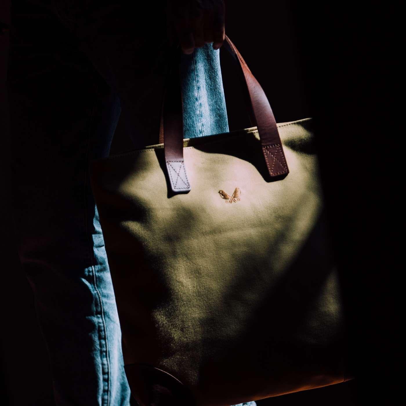 Olive Tote Bag | Bombinate