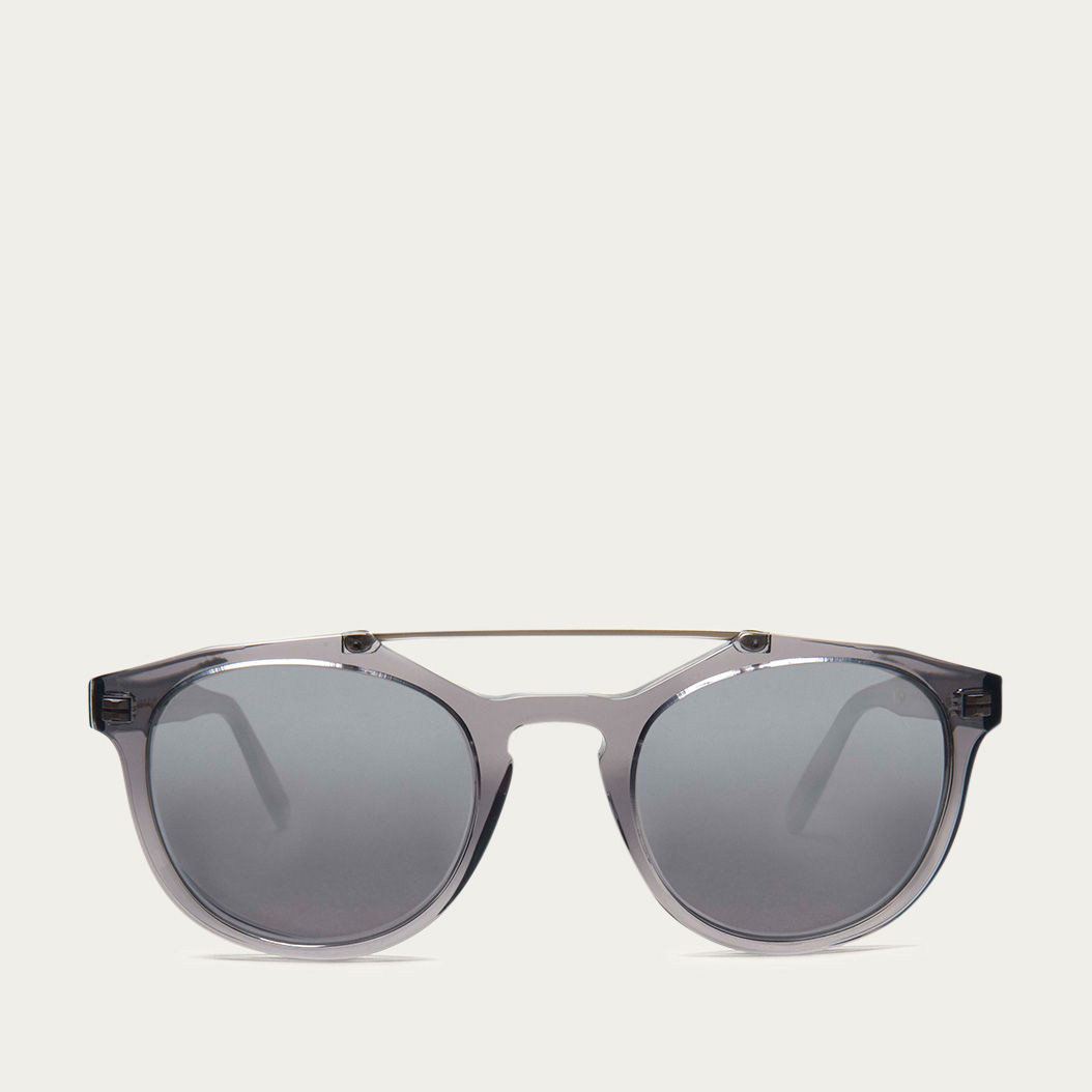 Grey Kreuzberg with Mirror Lenses Sunglasses | Bombinate