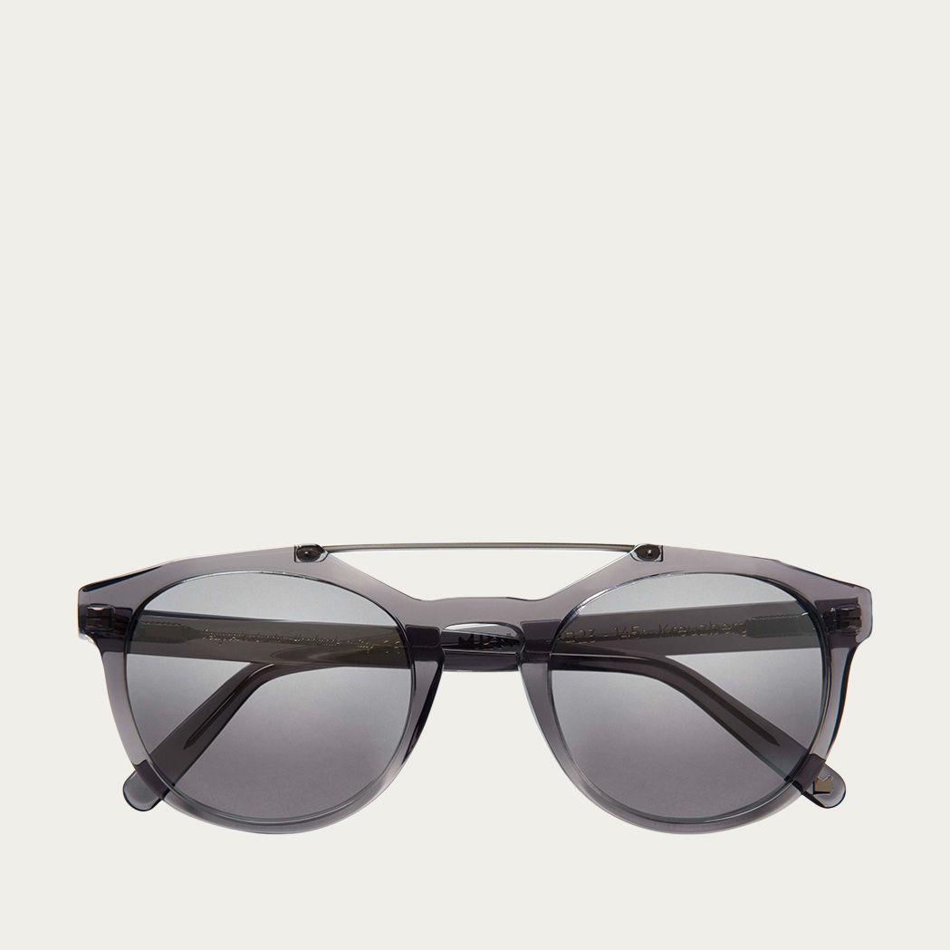 Grey Kreuzberg with Mirror Lenses Sunglasses | Bombinate