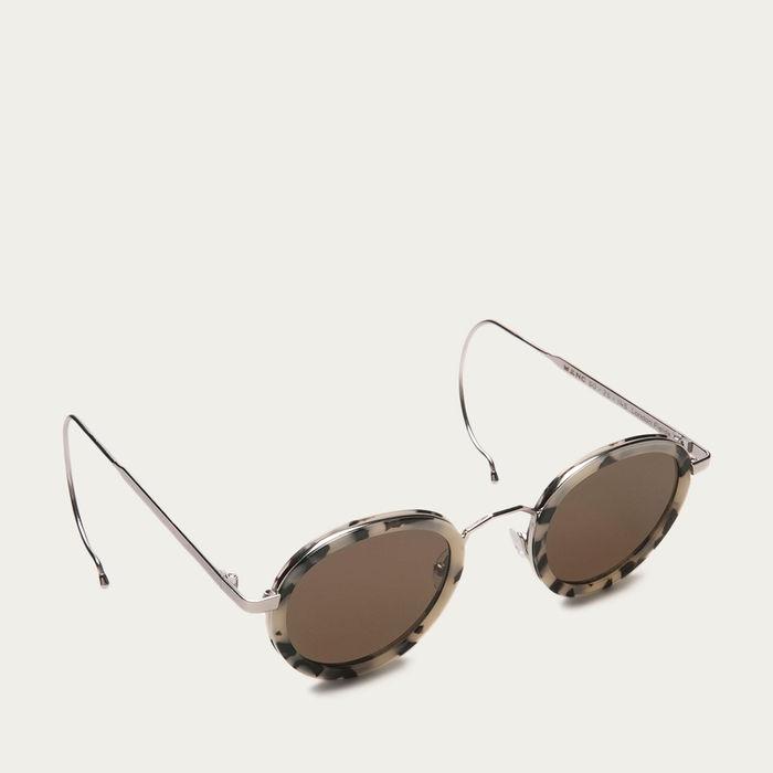 White Tortoise London Fields with Brown Lenses Sunglasses | Bombinate