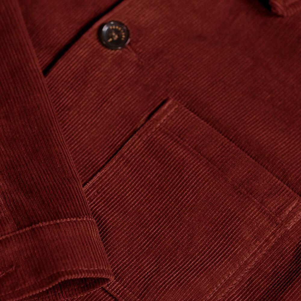 Cinnamon Cord Vincent Button | Bombinate