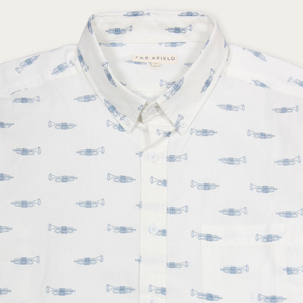 Trumpton Mod Button Down S/S Shirt  | Bombinate