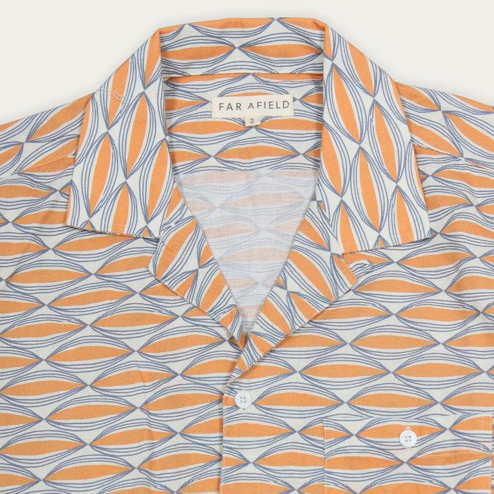 Wallington Linen Selleck S/S Shirt  | Bombinate