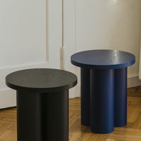 Vulcano Black Oly Stool | Bombinate