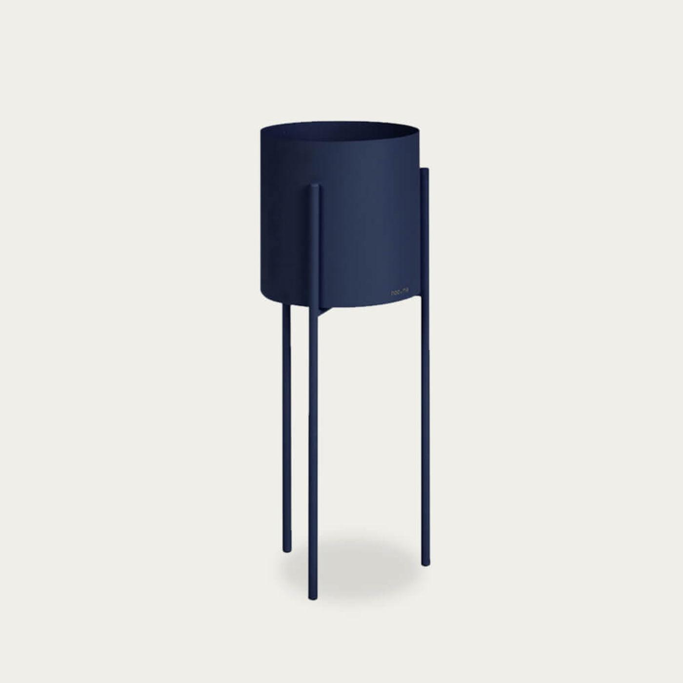 Blue Maki Plant Pot Tall | Bombinate