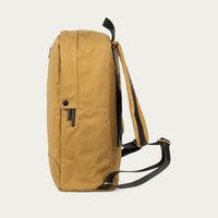 Sand Edward Waxed Canvas Backpack  | Bombinate