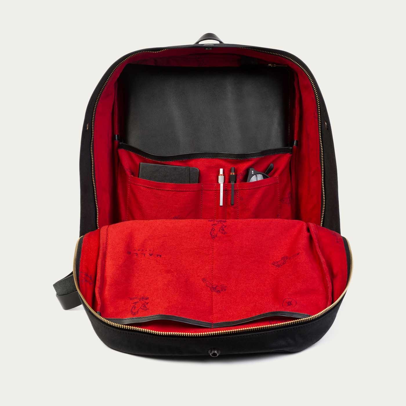 John Waxed Canvas Backpack  | Bombinate