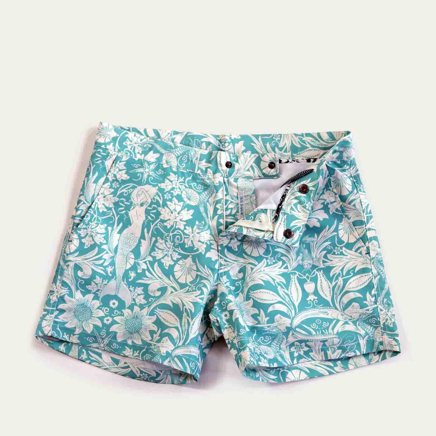 280447e75d Riz Boardshorts | Vintage Morris Sea Buckler Swim Short | Bombinate