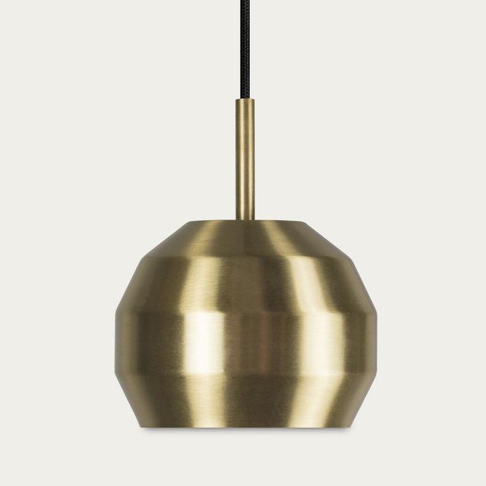 Brass Mini Pitch Pendant  | Bombinate