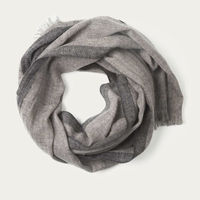 Two Tone Grey Oxford Scarf   | Bombinate