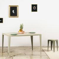 Silk Grey Chamfer Table | Bombinate