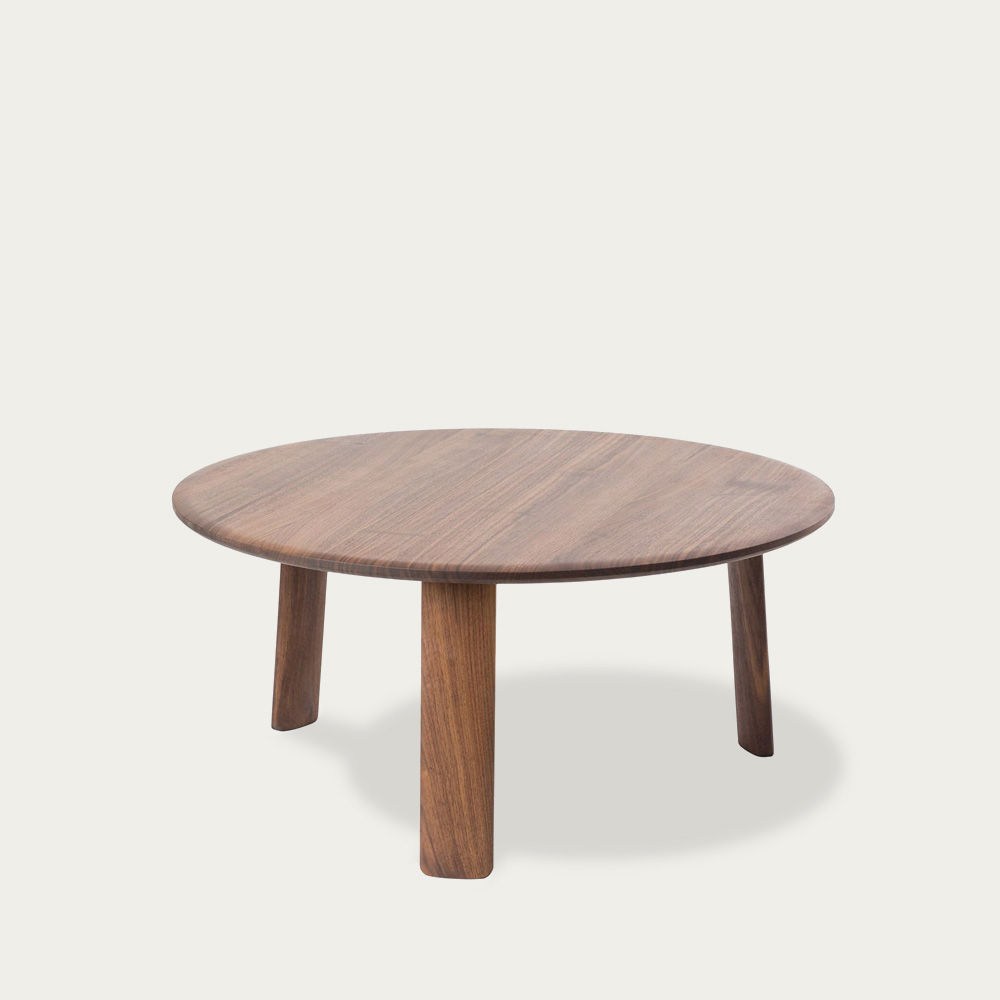 Walnut Lacquered Alle Coffee Table Large | Bombinate