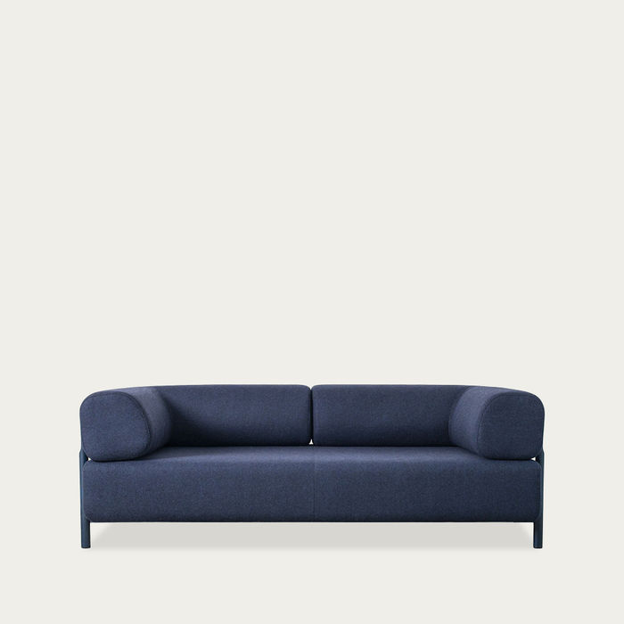 Dark Blue Palo Modular 2-Seater Sofa + Armrest   Bombinate