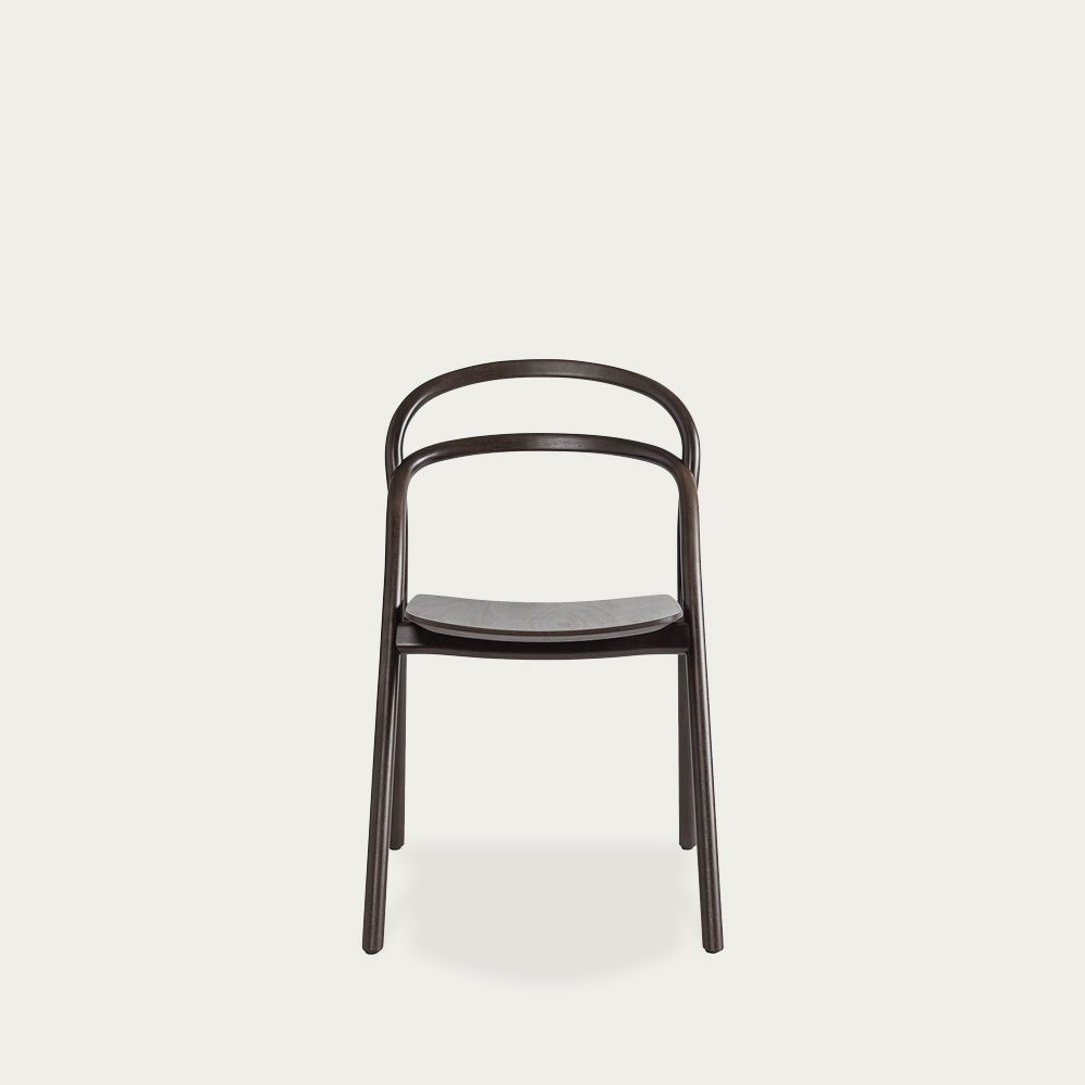 Brown Udon Chair by Staffan Holm | Bombinate