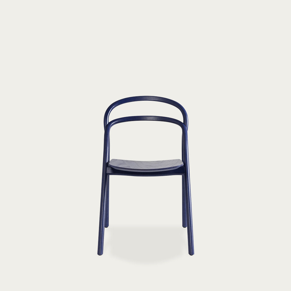 Blue Udon Chair by Staffan Holm   Bombinate
