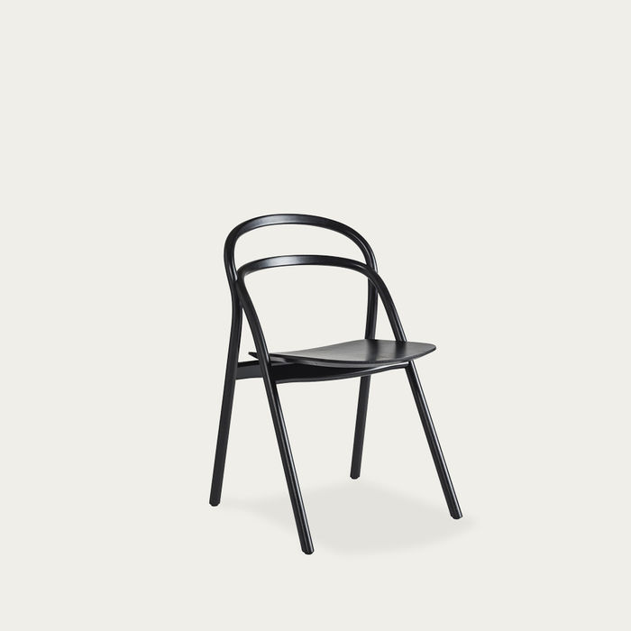 Black Udon Chair by Staffan Holm | Bombinate