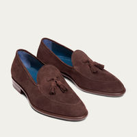 Brown Suede Tassel Loafer | Bombinate