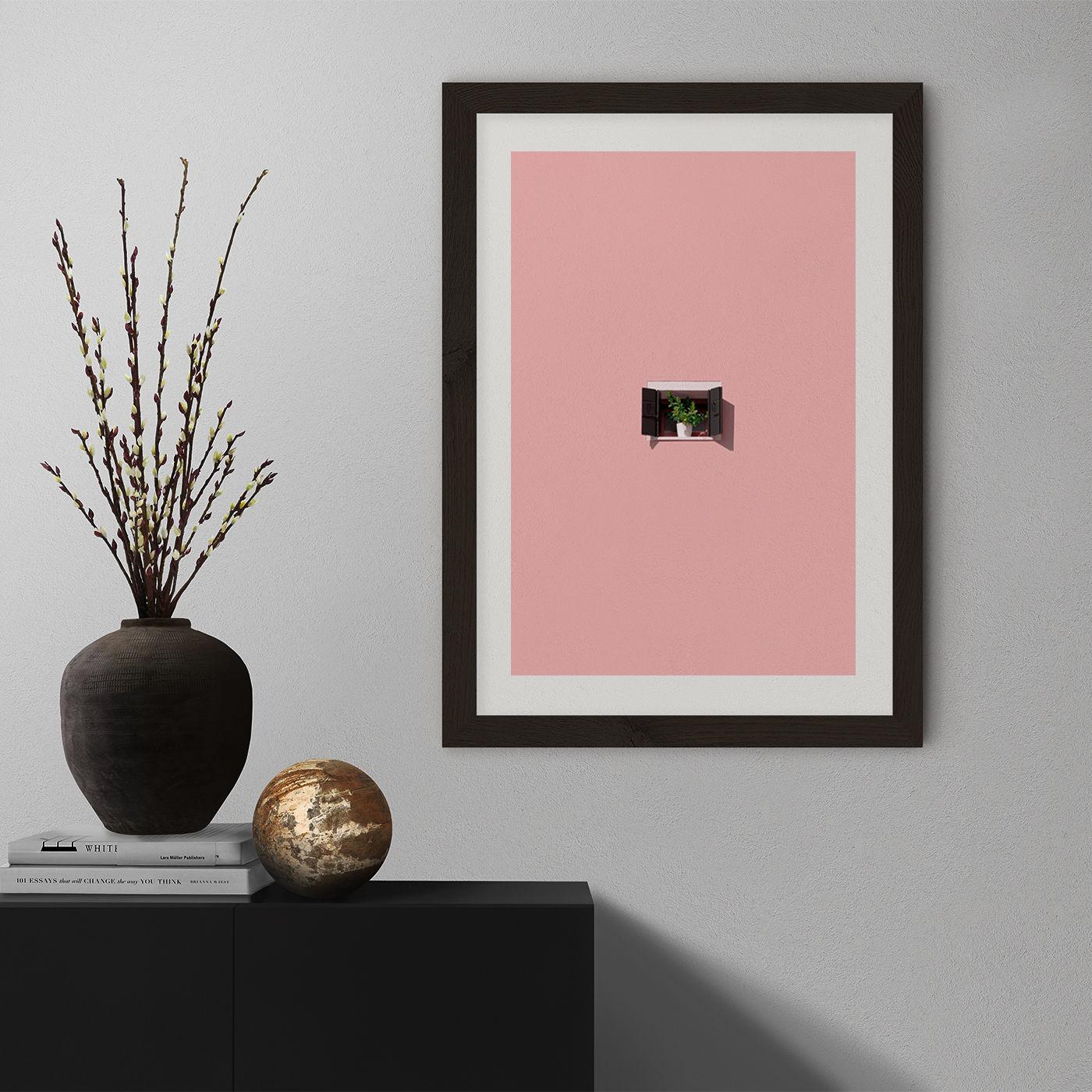 Photosynthesis Art Print Black Frame | Bombinate