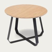 Black/Natural Shunan Side Table | Bombinate